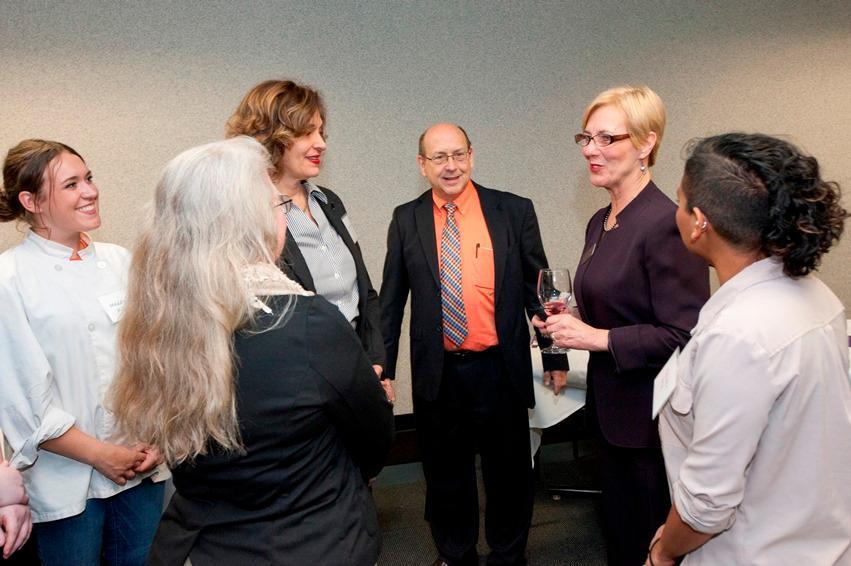 Members from Harper 's Hospitality Program