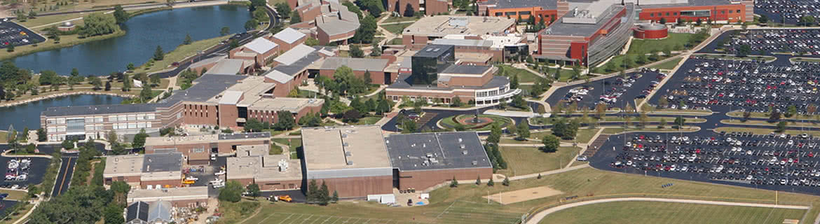 Aerial View Harper College
