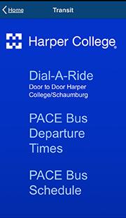 Mobile App: Harper College