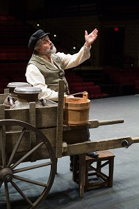"Bill Brown plays Tevye in ""Fiddler on the Roof"""