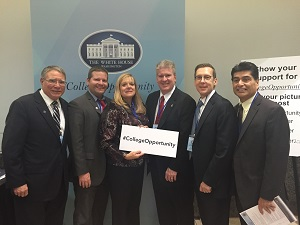 Dr. Ender attends the White House Summit