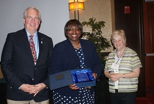 Bill Kelley and Michele Smith receive ICCTA award