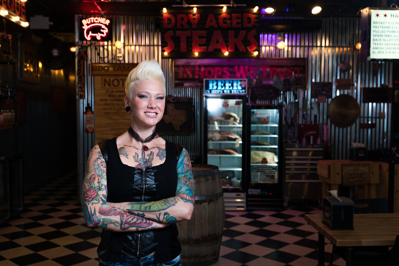 Harper Alumna Takes Barbecue To New Heights Harper College