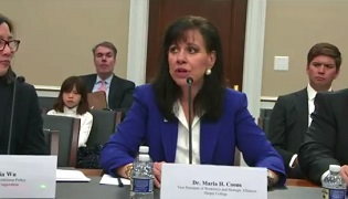 Maria Coons testifies before Congressional subcommittee