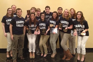Harper College speech and debate team