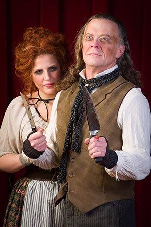 Photo of Sweeney Todd characters