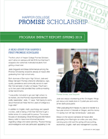 Promise Scholarship Quarterly Impact Report