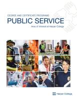 Cover of Public Service brochure