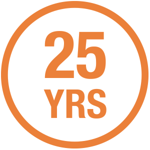 25 years trusted