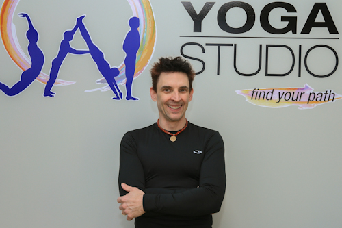 John Sisson, Owner JAI Yoga Studio
