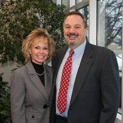 Donna Grzegorek and her husband Michael.