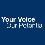 Your Voice, Our Potential logo