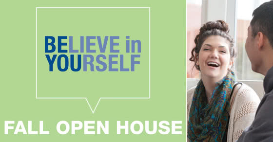 BElieve in YOUrself - Spring Open House