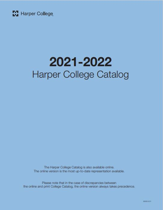 Fall 2020 - Catalog and Student Handbook cover