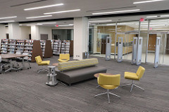 2nd floor of Harper College Library