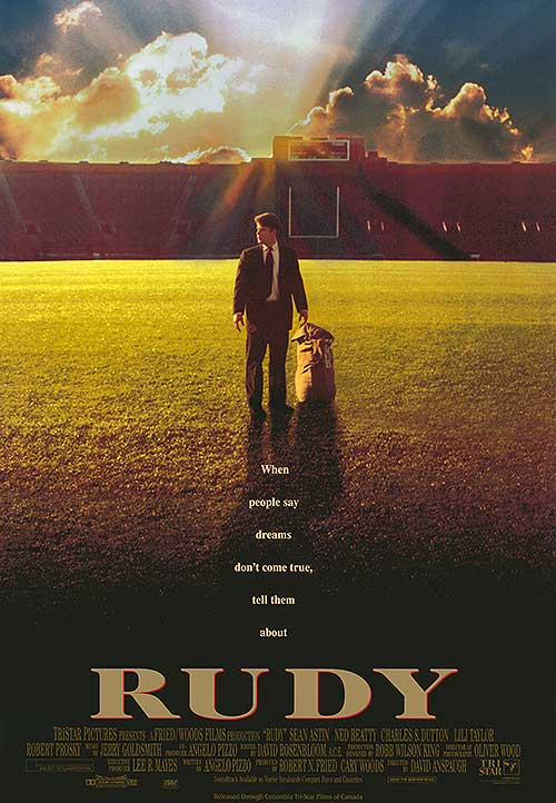 Rudy - Movie Poster