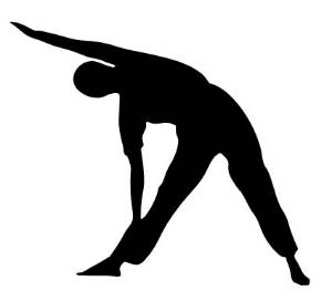 image of person stretching