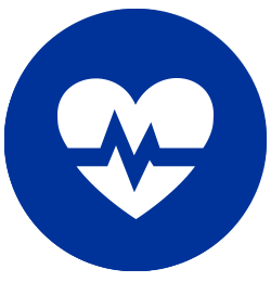 Healthcare heart icon