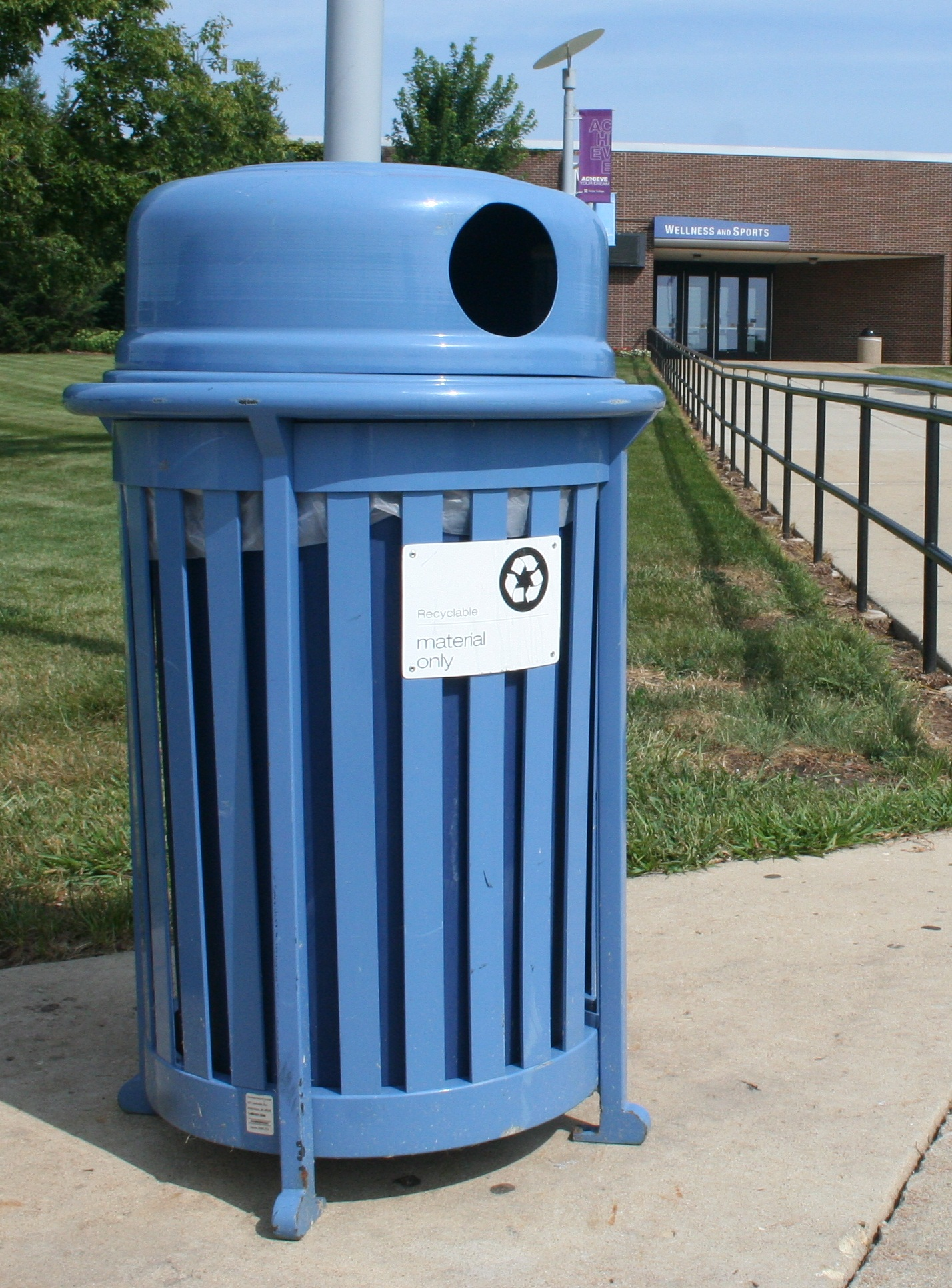 Outdoor Recycling Container