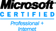 Microsoft                     Certified Professional + Internet